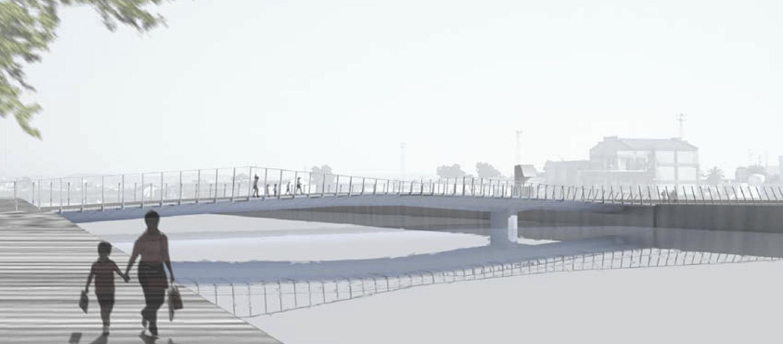 Puente Urbano sobre el río Guadalete