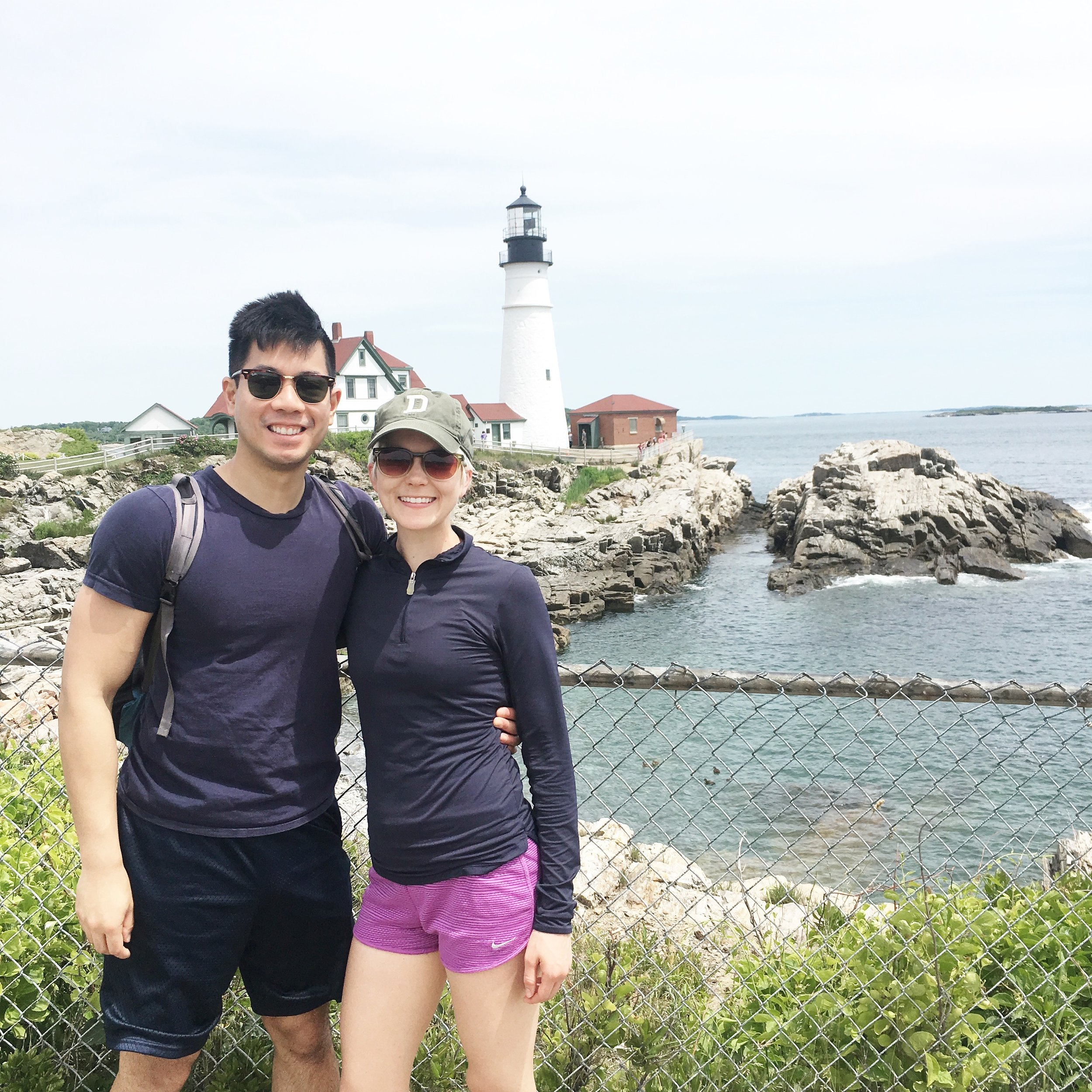 This is from a quick trip to Maine we took to see my sister and her family. We had to say forgo a lot of traveling because of my appointment and medication cycles, but this was a much-needed break from reality with lots of hugs from my niece and nephew.