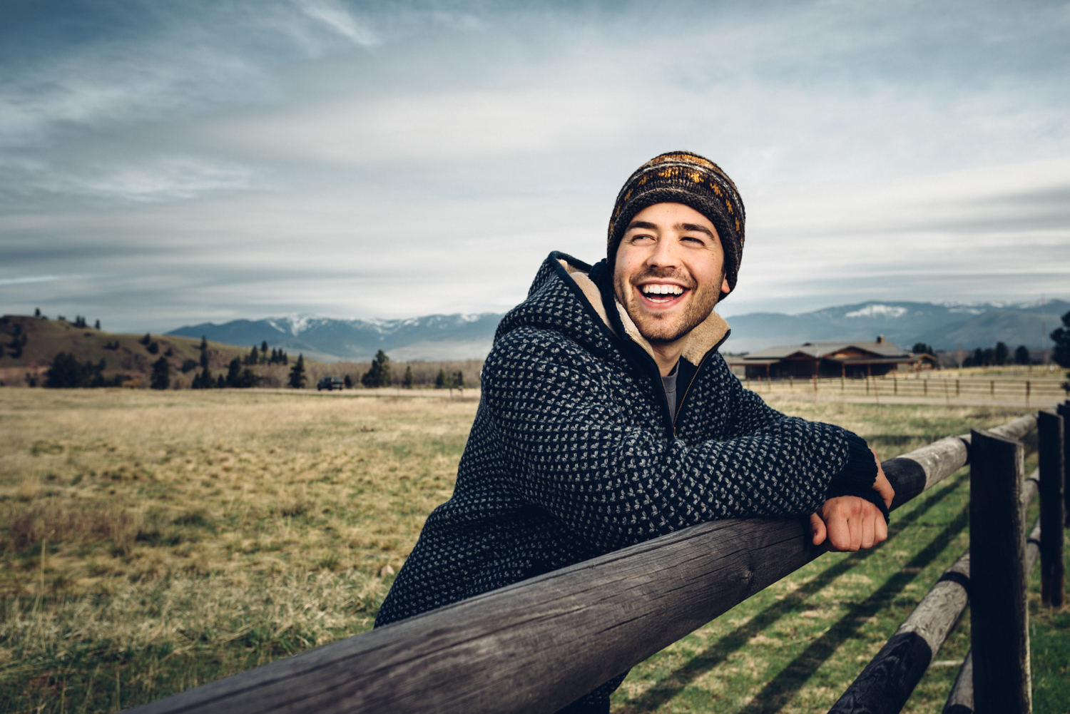 One of my favorite images from the shoot with the beautiful Missoula valley as a backdrop.