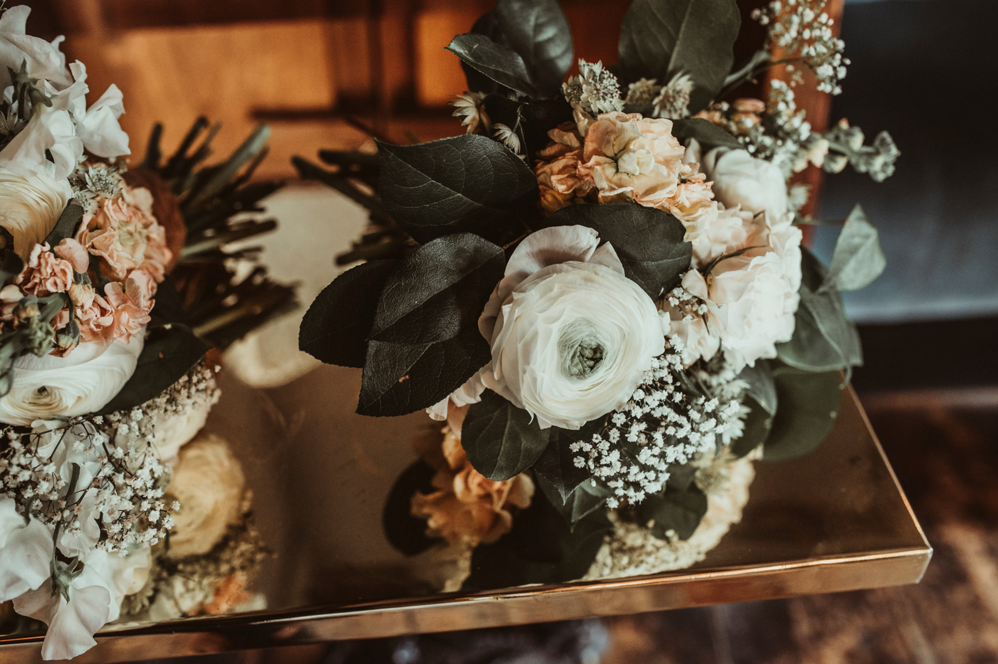 Flowers by Jenn Pinder Photo by Jess Soper Spring Wedding at Islington Union Chapel and Dead Dolls House
