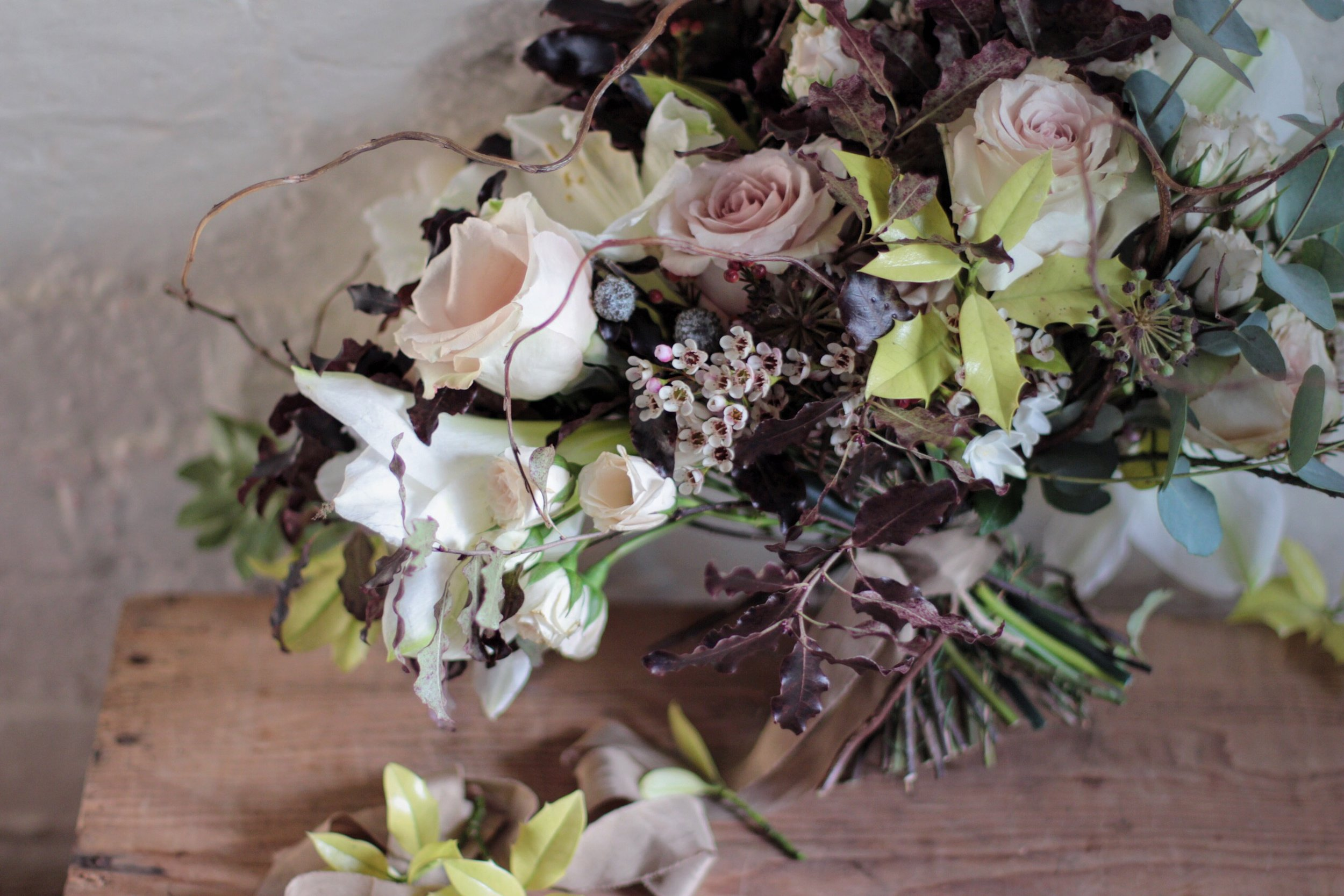 Winter workshop at Jennifer Pinder studio in Kent a Kent florist 1