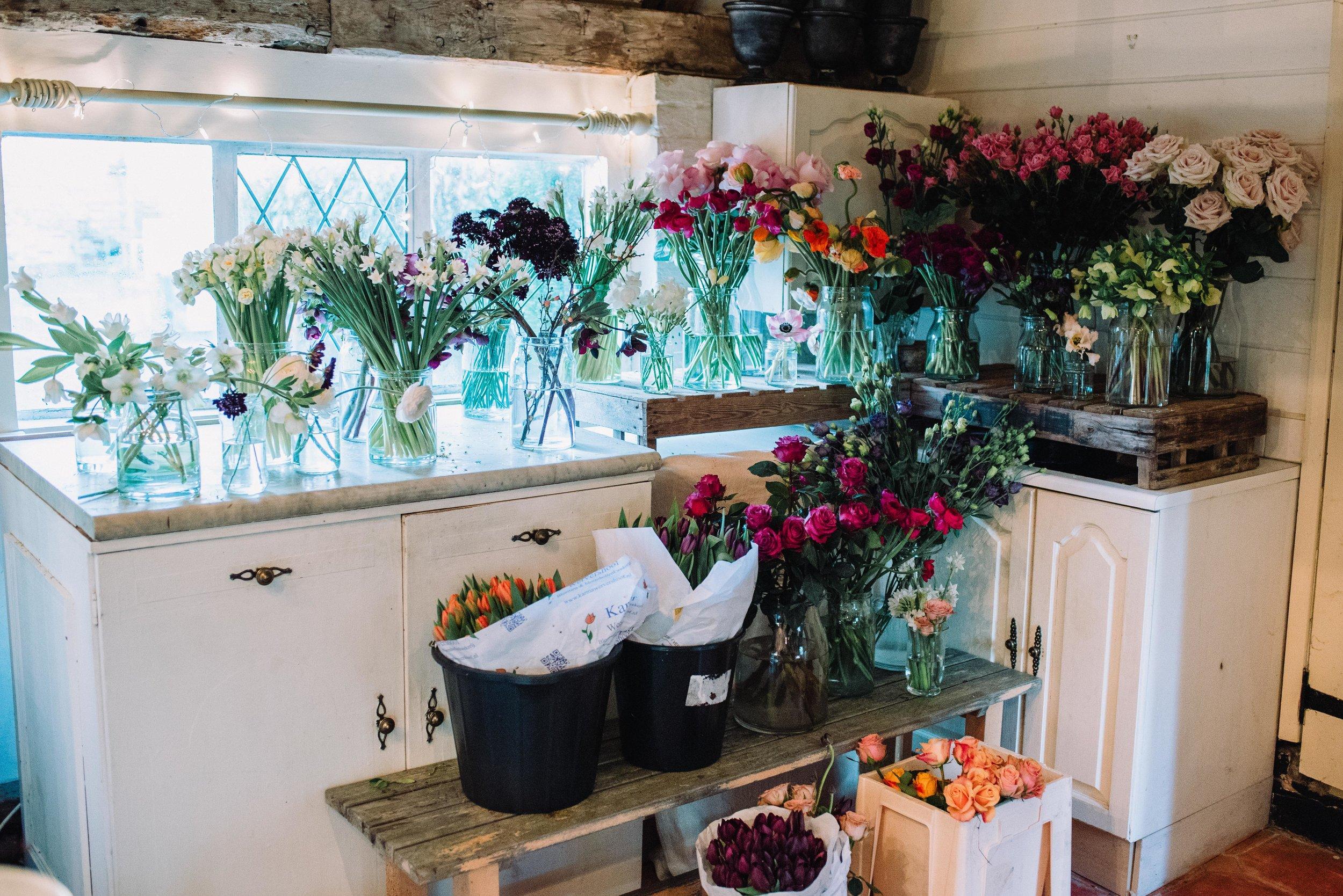 Flowers from Kent florist Jennifer Pinder Floral Styling