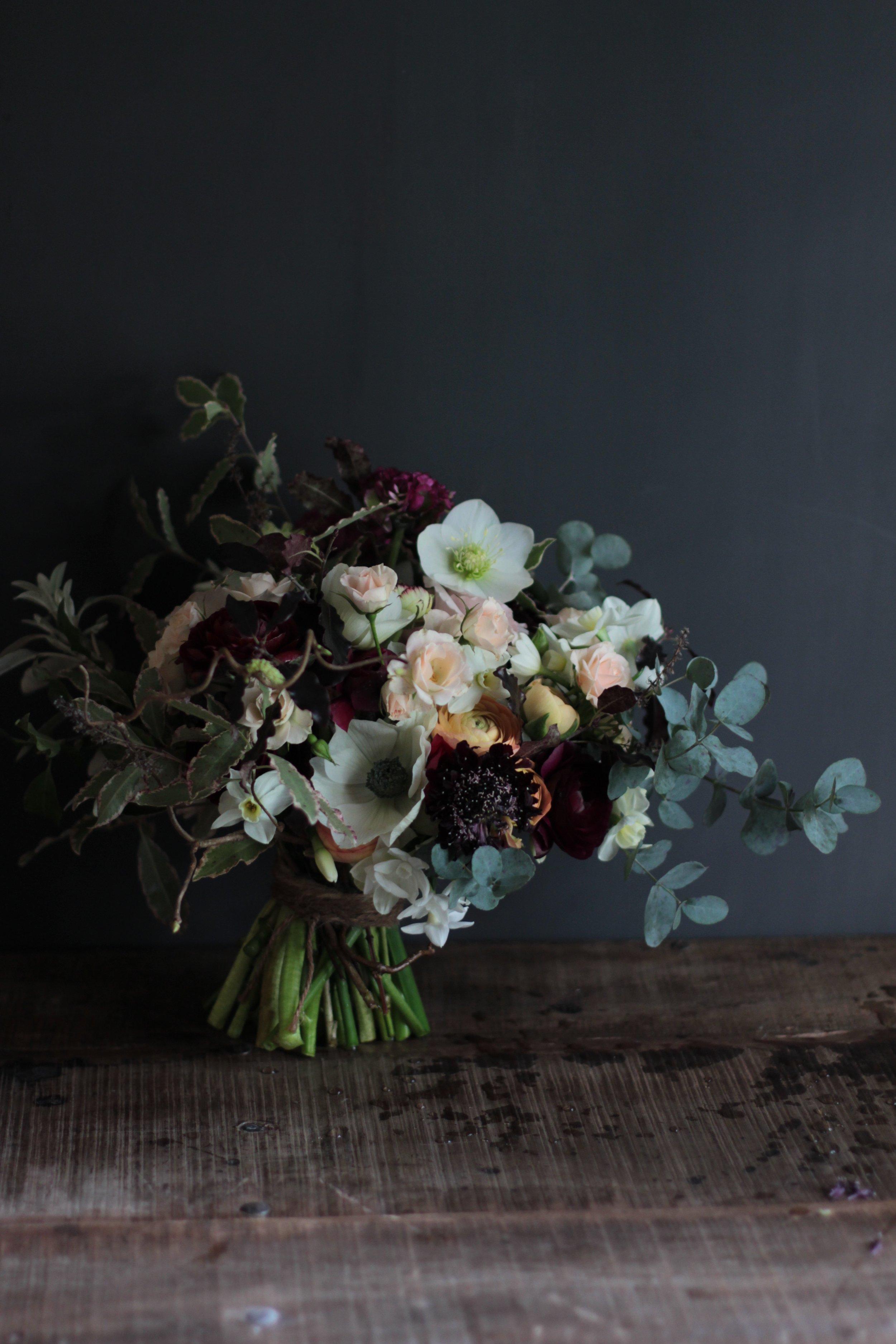 Original wedding bouquet by knet wedding flowers florist Jennifer Pinder