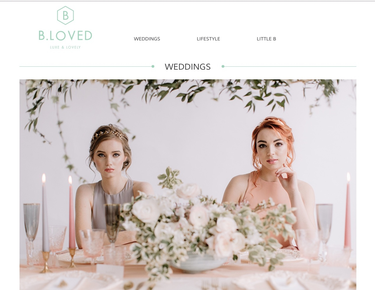 Feature on Bloved Wedding Blog