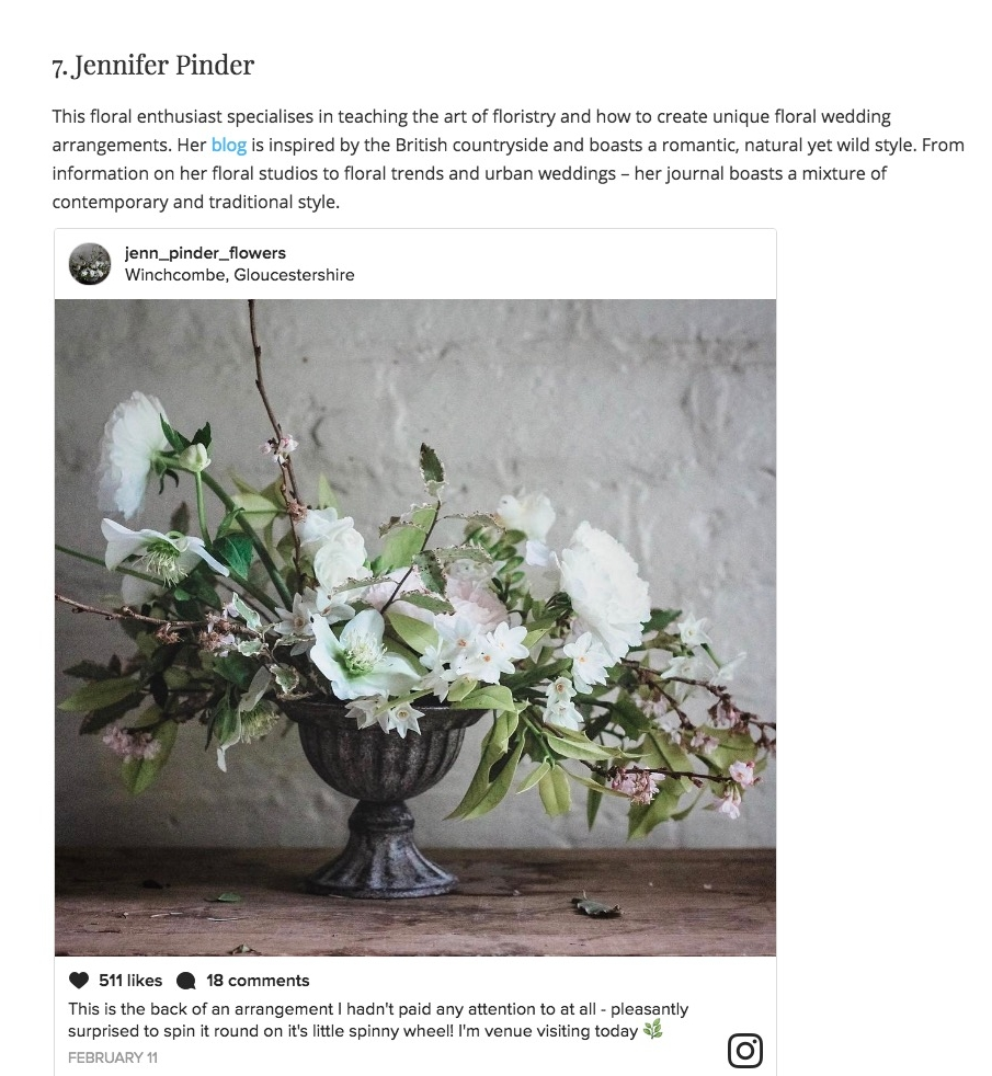 Top 7 Floral Instagram Accounts to Follow