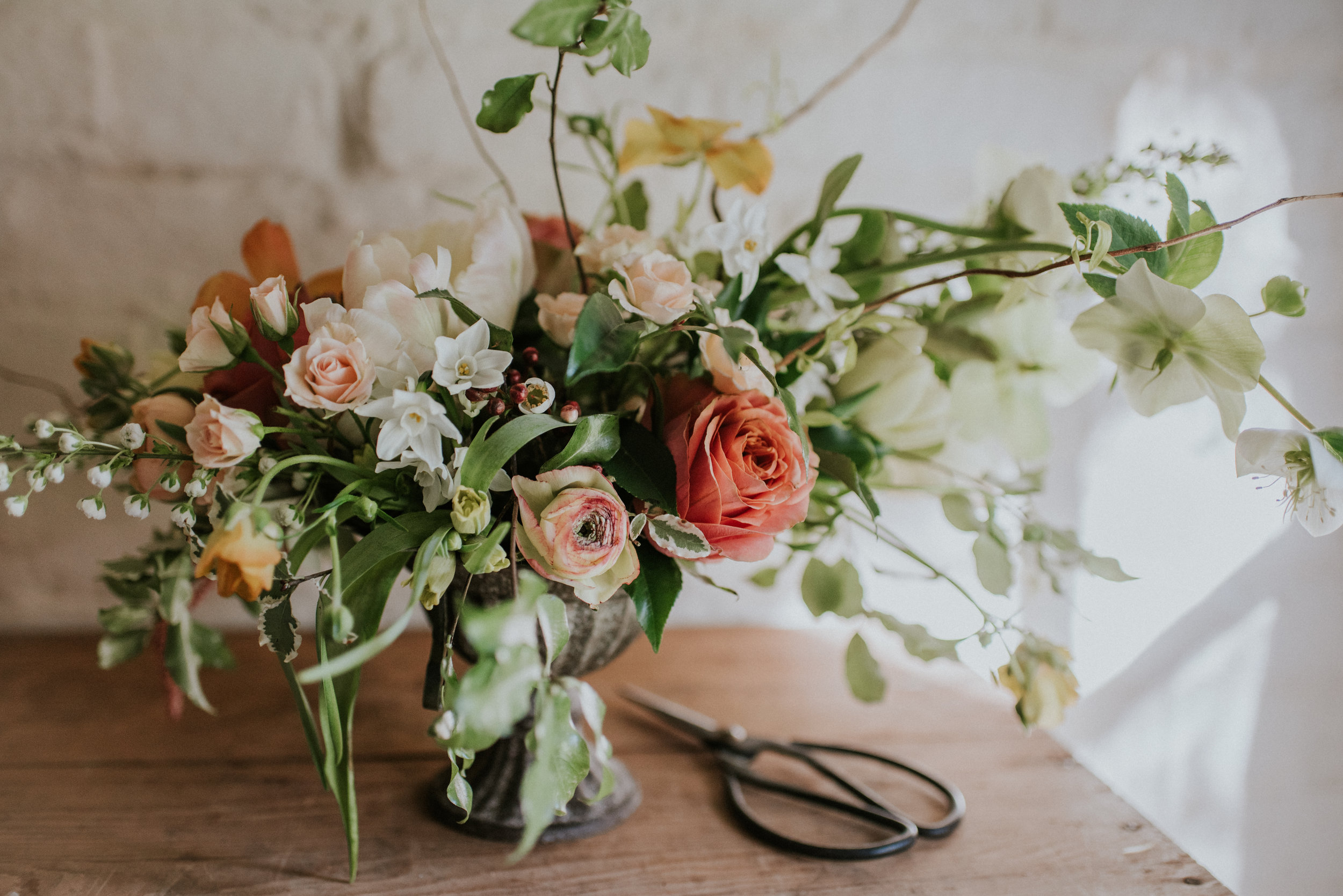 One to One workshop with Jennifer Pinder Floral Styling Kent wedding flowers florist