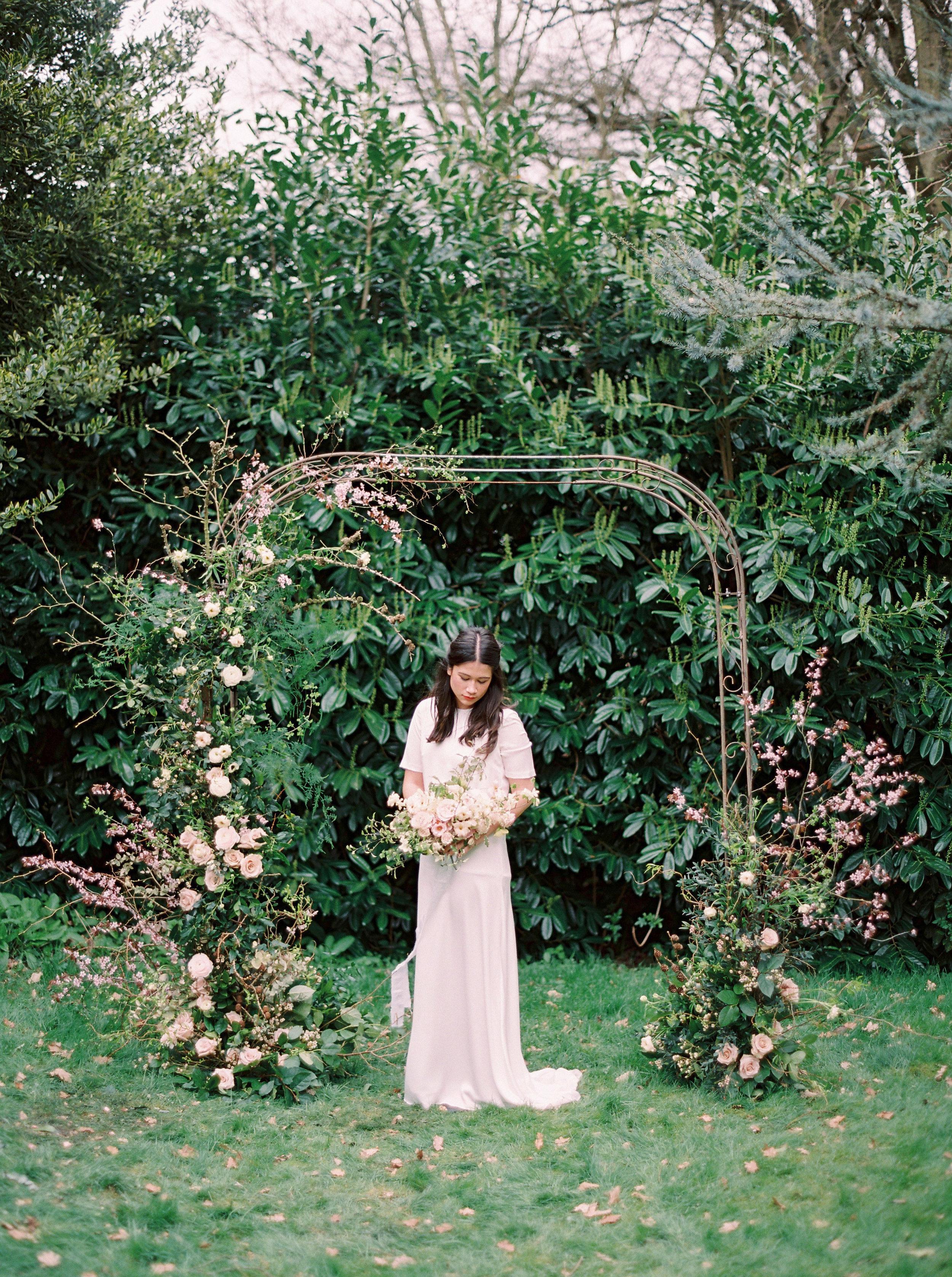 Kent wedding flowers luxury course Jennifer Pinder