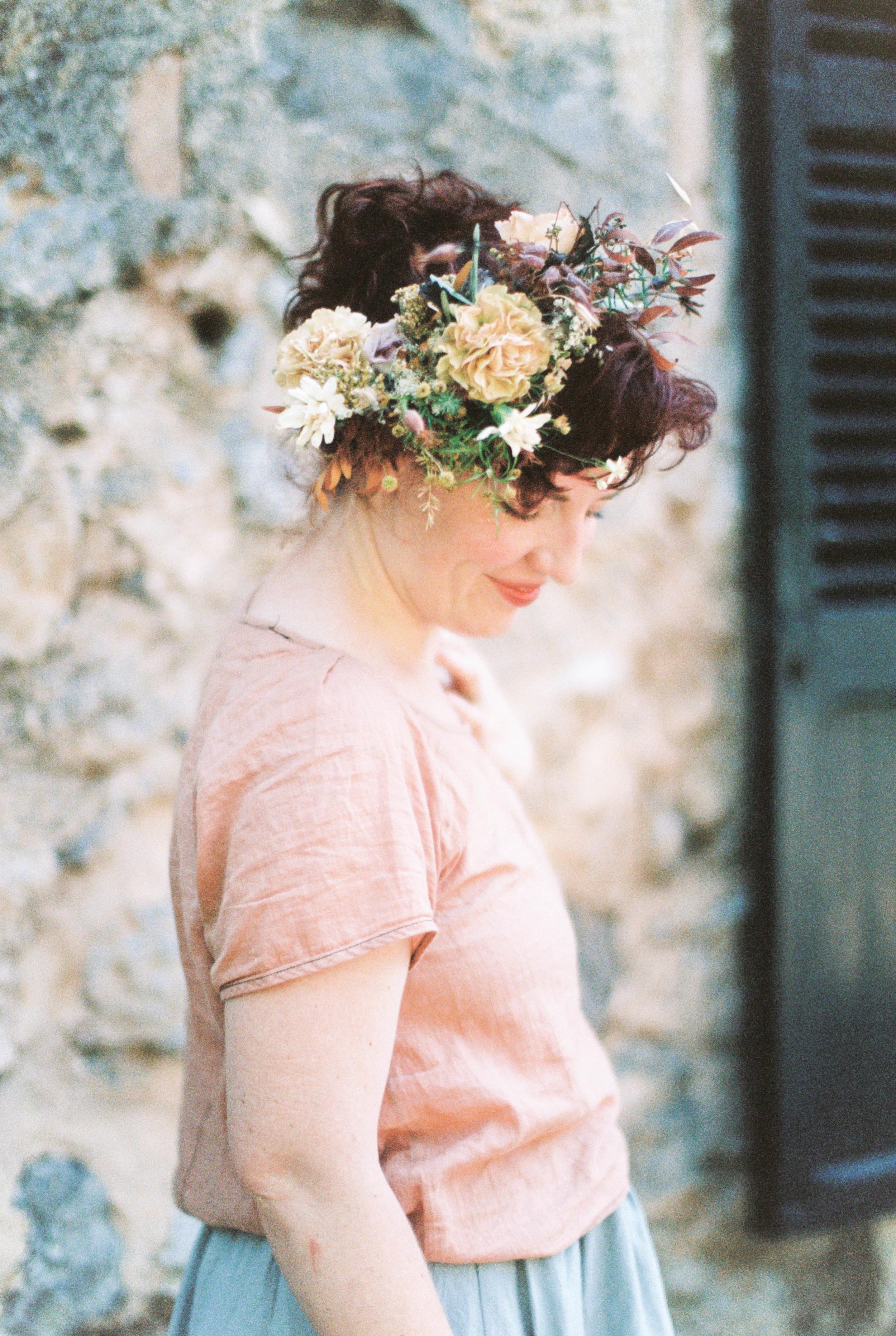 Flower crown by  Frida Kim