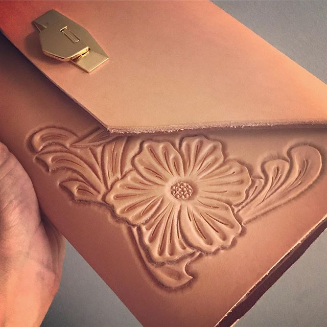Ecstatic to share this collaboration with my father...more to come!  #mandolinhandbags #mandolintribe #clutch #leather #collaboration #fashion #imadeyourclothes #stl #stlmade