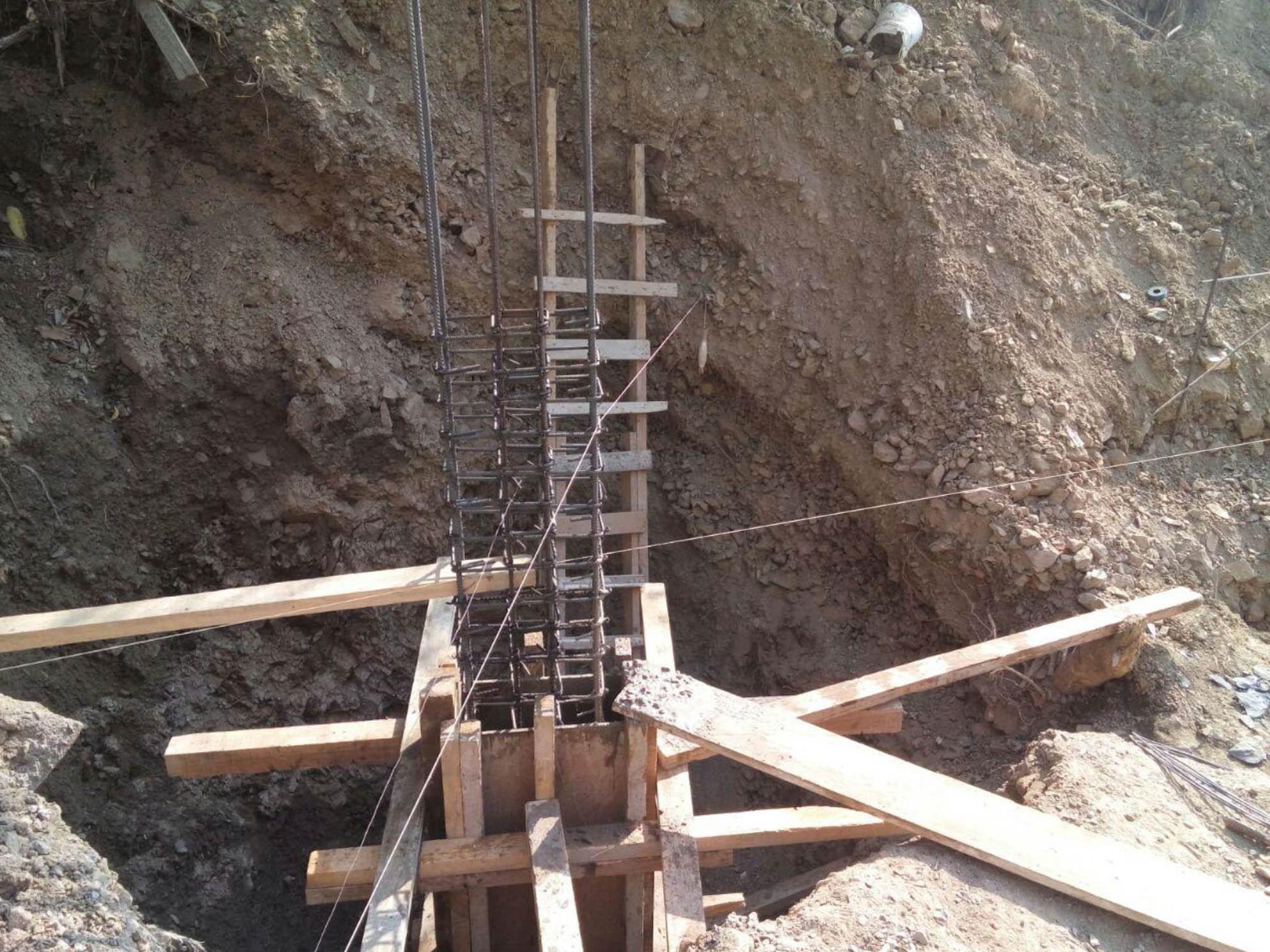 Placing Columns Building A