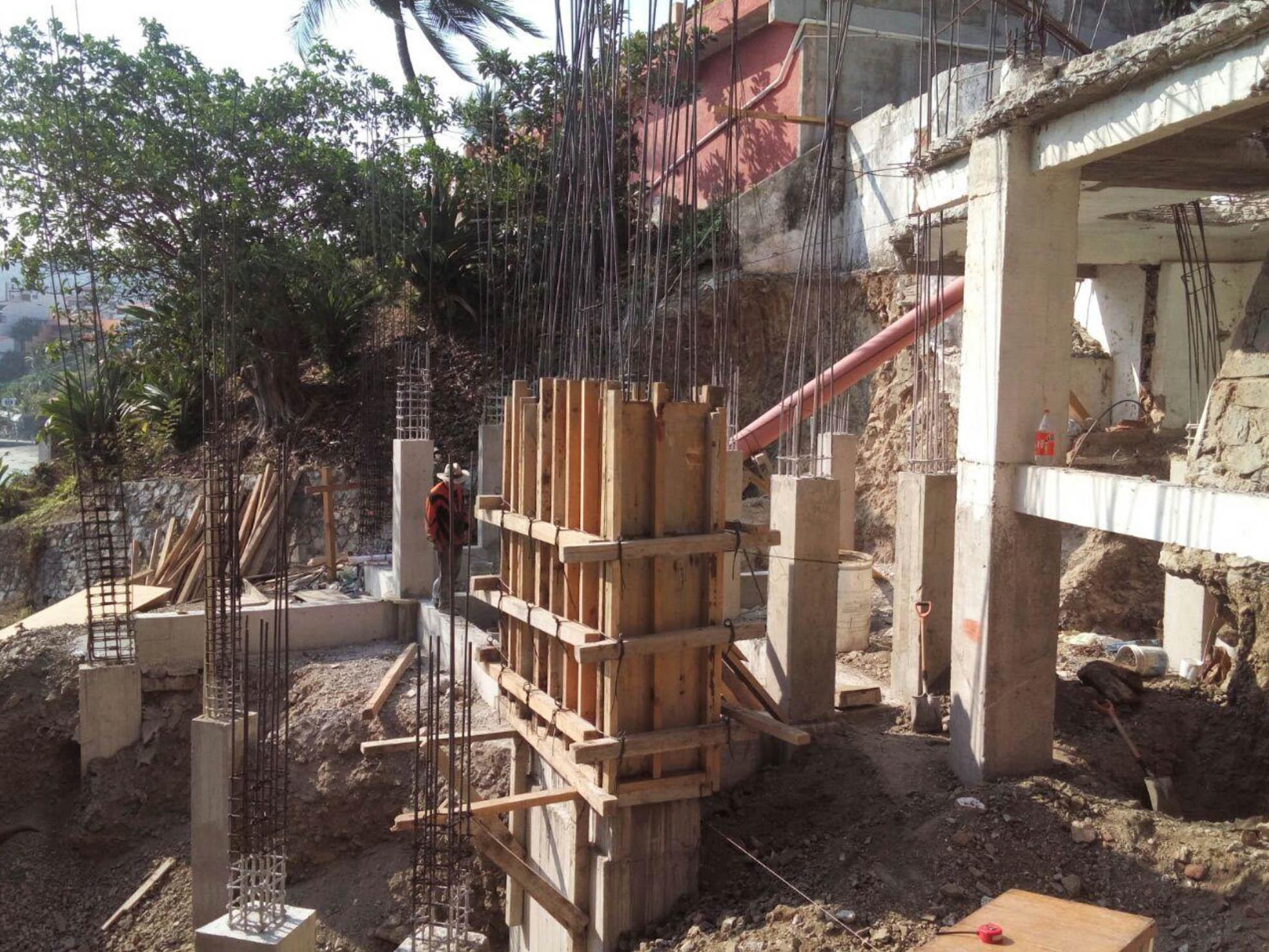Placing Basement Columns