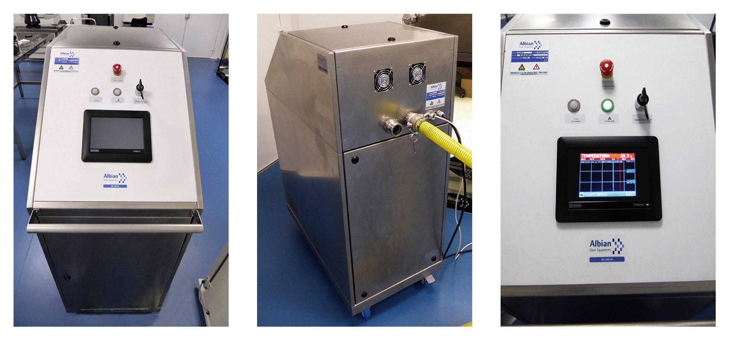 H2O2 Station Portable ALBIAN