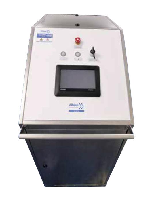 Movable H2O2 desinfection unit
