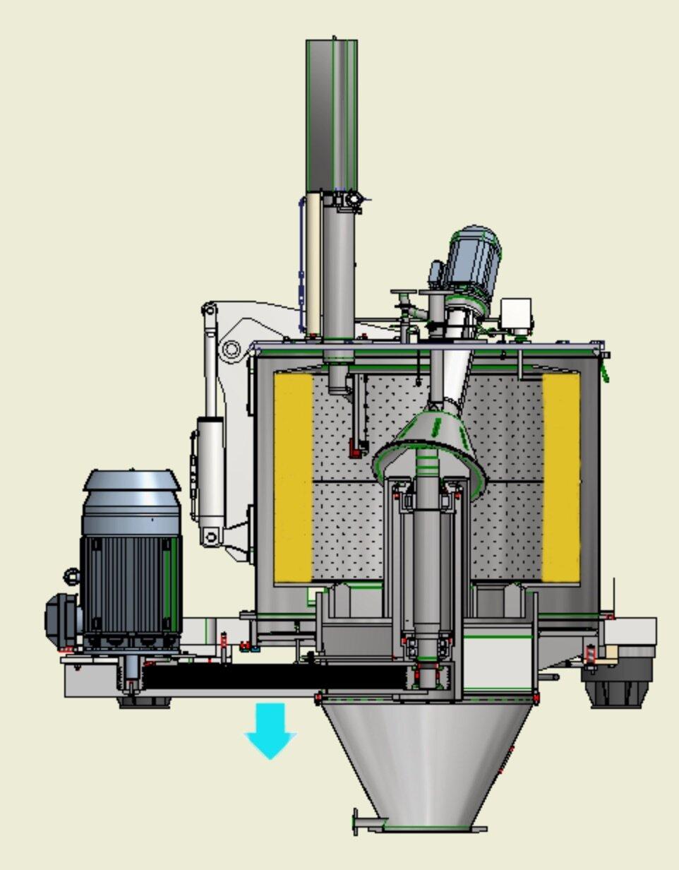 Essoreuse centrifuge Comi Condor type TM centrifugation
