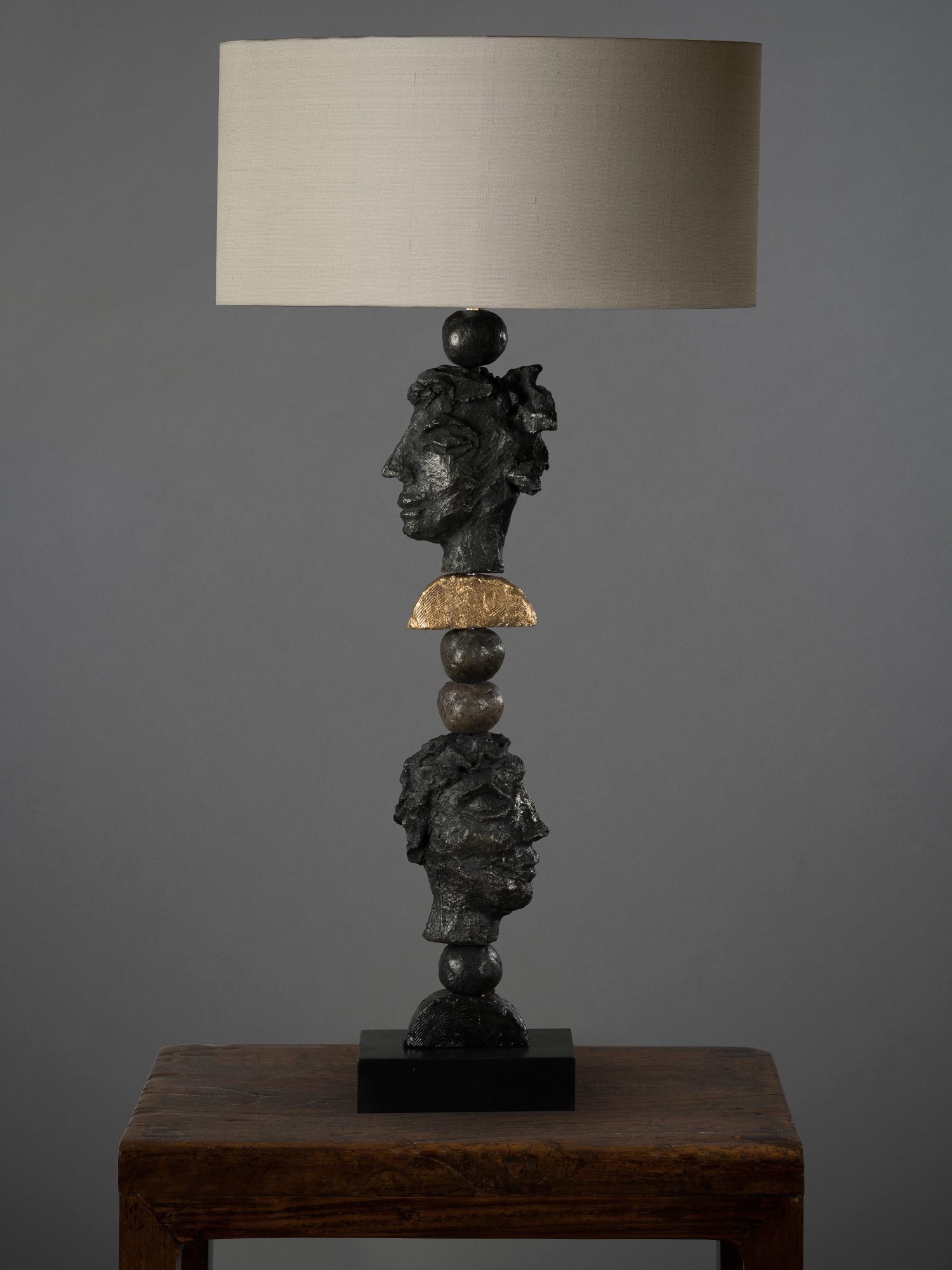 Signature NEW YORK Table Lamp in dark or white H:65cm w:o Shade £650.jpg
