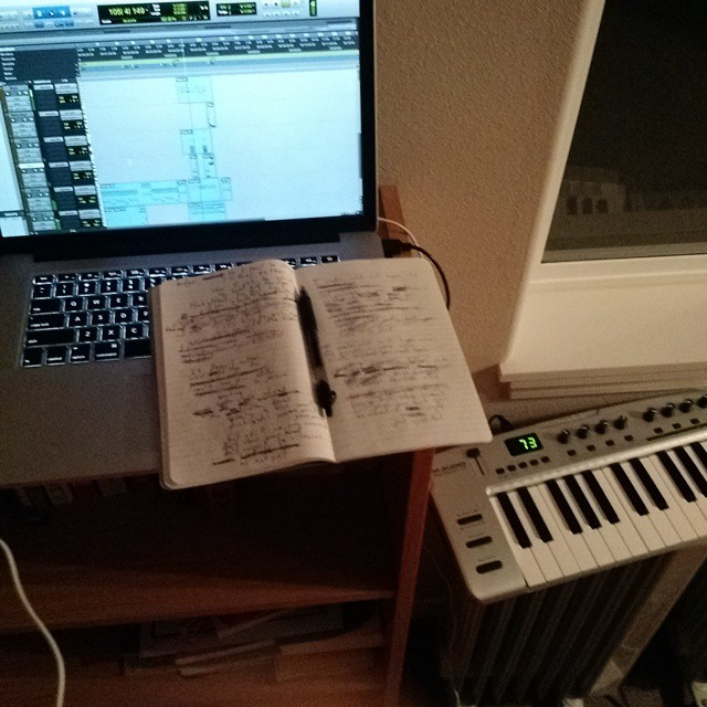 Songwriting is messy business.