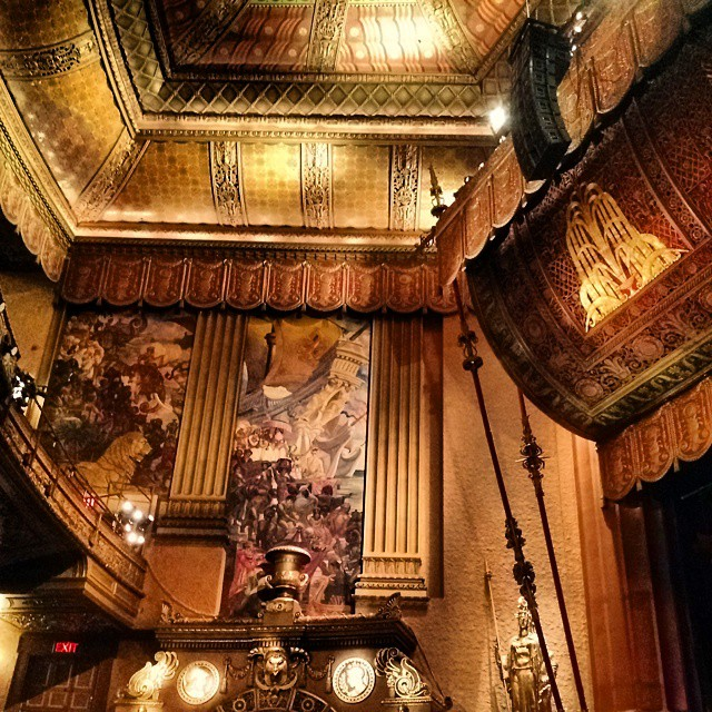 The beautiful Beacon (at The Beacon Theatre)