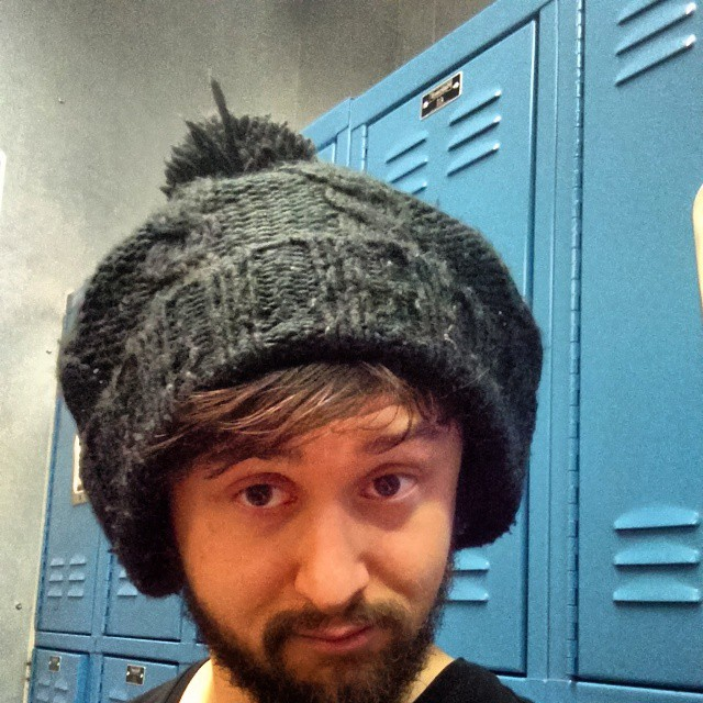 What do you think of the hat-over-headphones look?