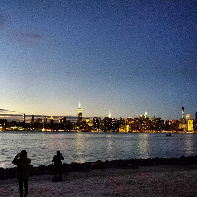 Been inside all day.  Then I grab a dose of this. Much better.  (at East River State Park)