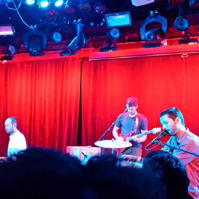 """Caught an amazzzzing show by @scareypics last night at @lprnyc. """"Range of Light"""" stands up live.  (at (le) poisson rouge)"""