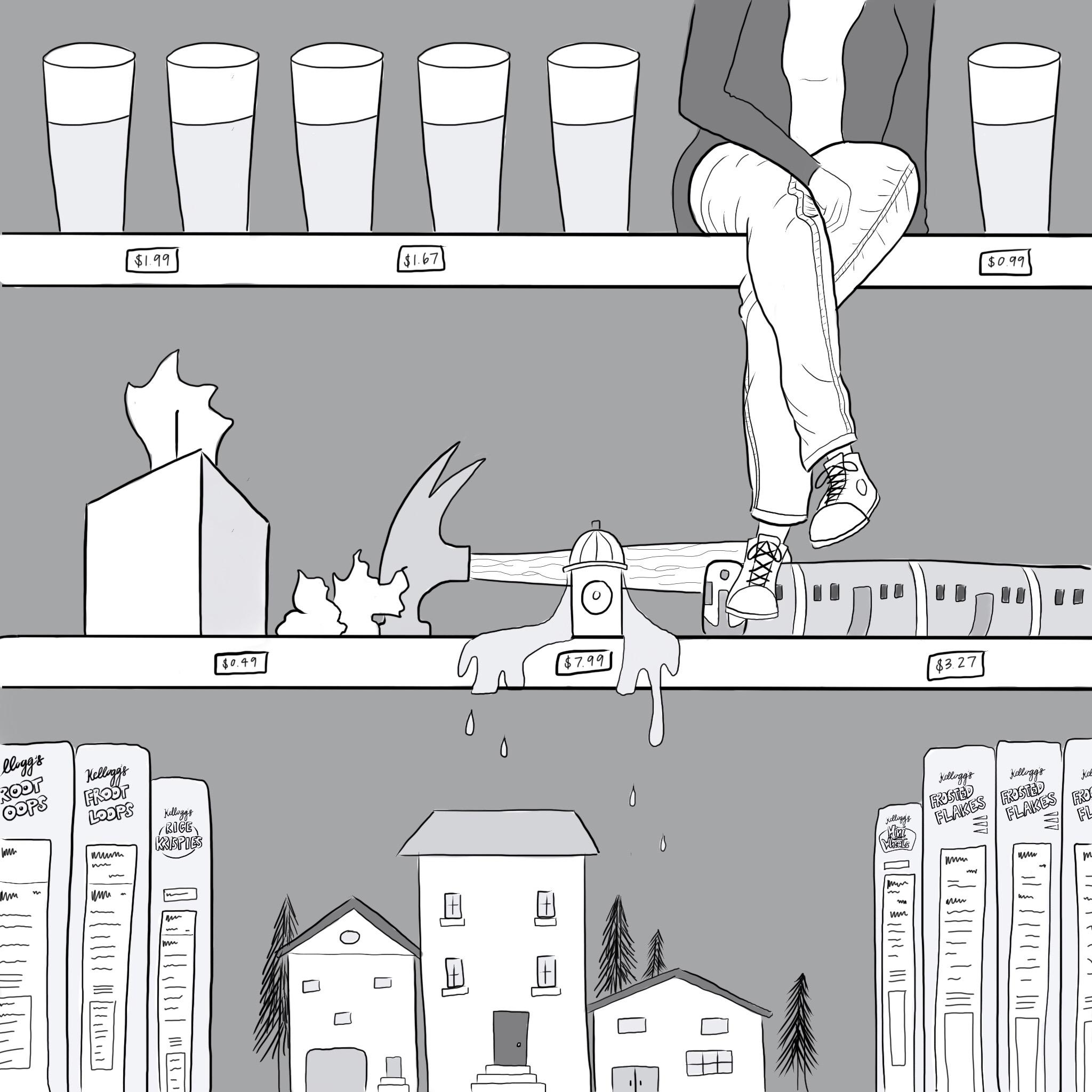 hydration  by Amy Gong Liu