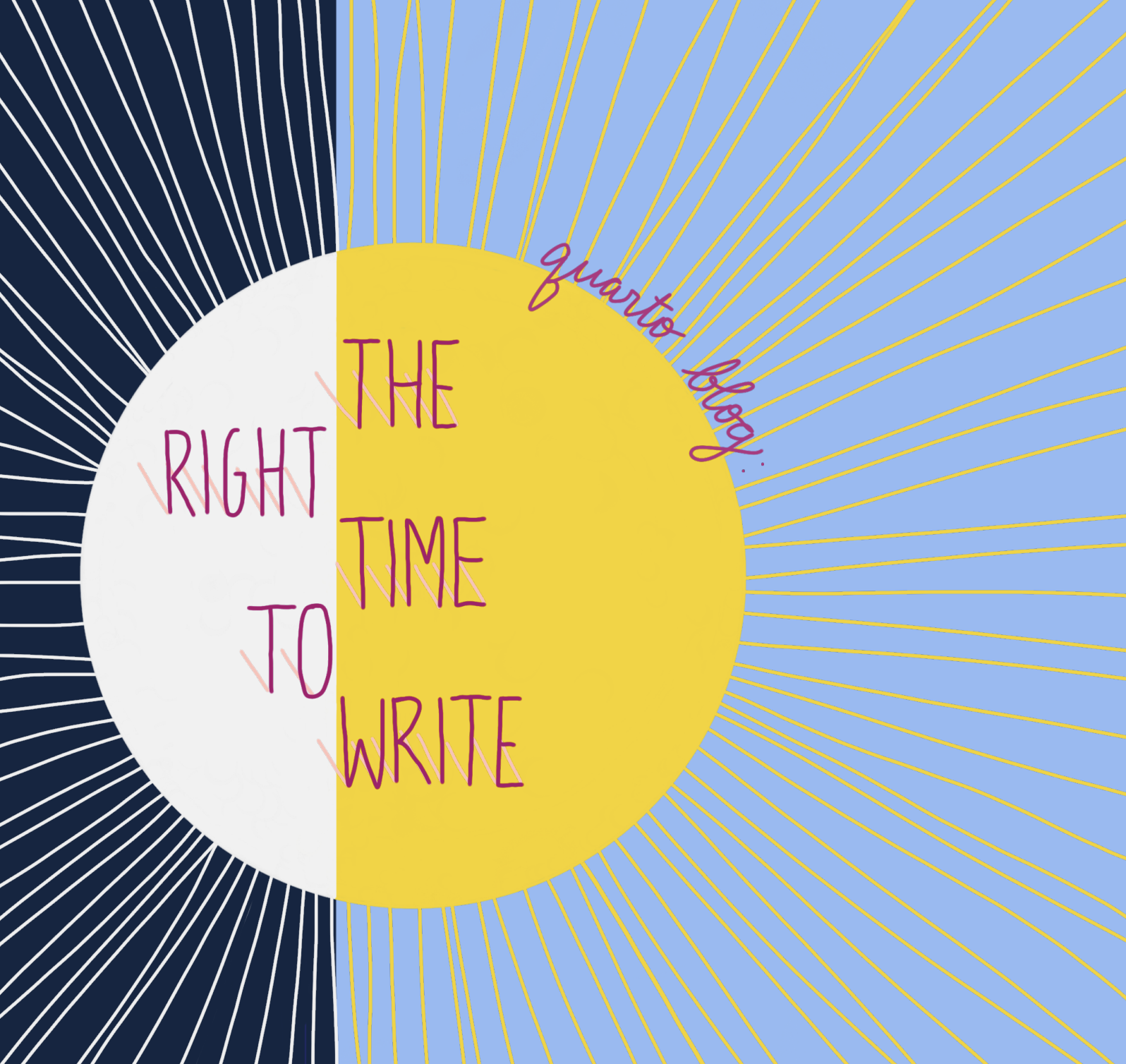The Right Time to Write  by Tamarah Wallace  Writing for me had always turned into a lengthy affair, similar to binge watching a show, where it became difficult to find any suitable stopping place. Since I felt that I had to carve out hours and hours at a minimum for this activity, I would neglect to put it on my schedule, and sometimes wouldn't even be in the mindset to write during the time I scheduled…Here are other ways Quarto kids make time for writing: