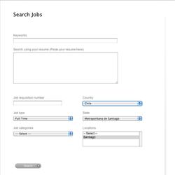 Apple Minimalist  Career Page
