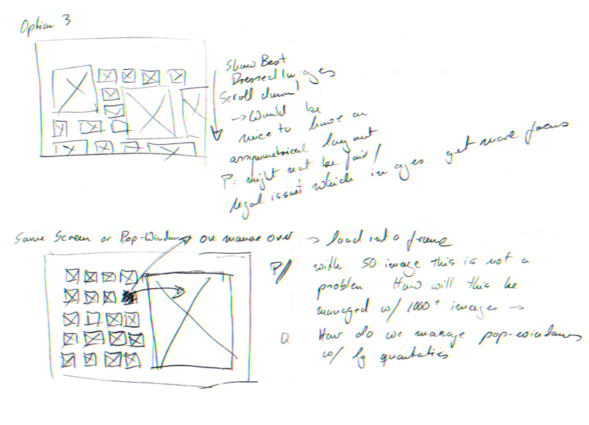 """Visualizing with the client initial idea on the """"Competition Module."""""""