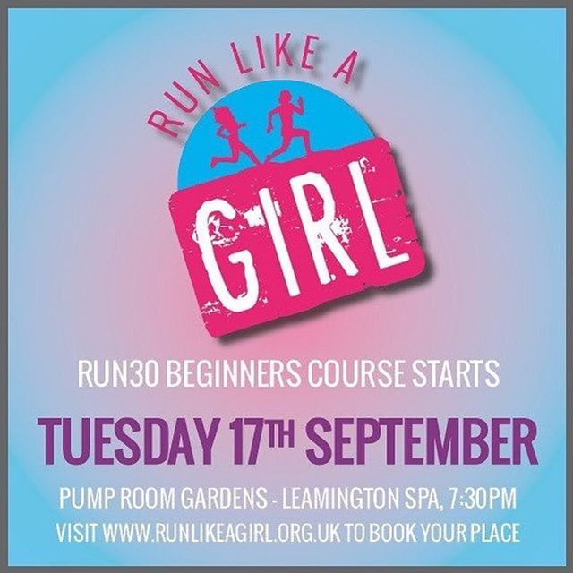 . Are you thinking about starting your running journey? It must be fate! . Our next Run30 course is commencing on the 17th September! Be sure to book your place in advance . . Check out our website for more information and booking link 👍🏼 . #womensrunning #beginnersrunning #runlikeagirl #run30 #leamingtonspa #whatsonleamington