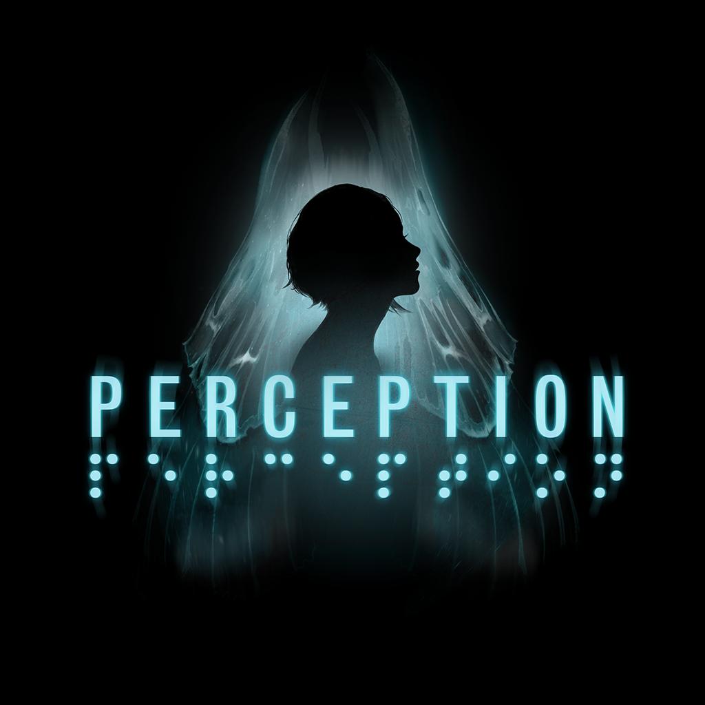 Perception | Deep End Games.    Logo art.