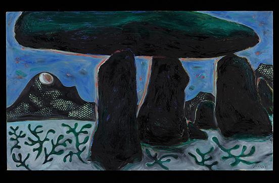 Lanyon Quoit in Winter