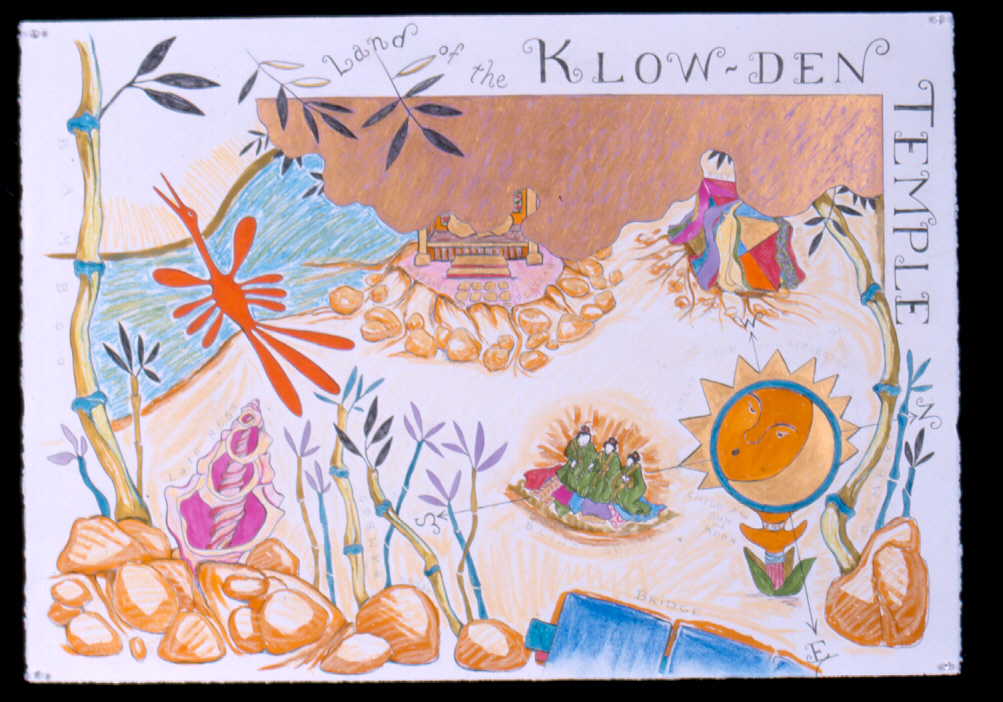 Land of the Klow-den Temple