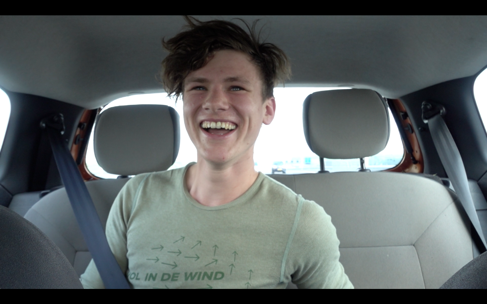 This is Chris being super excited.