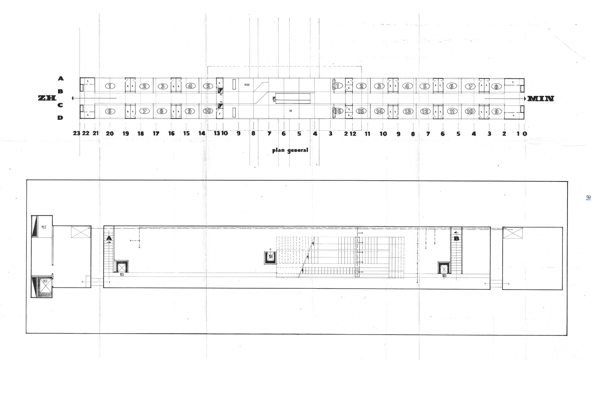 Plan Galerie Technique | Technical Room
