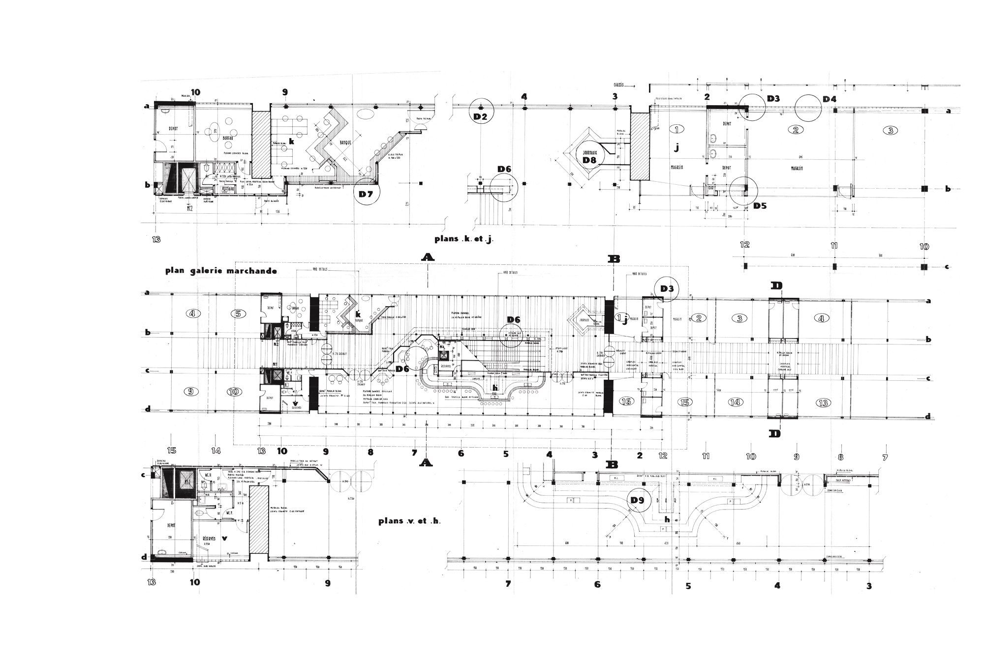 Plan Galerie Marchande | Shopping Mall Plan