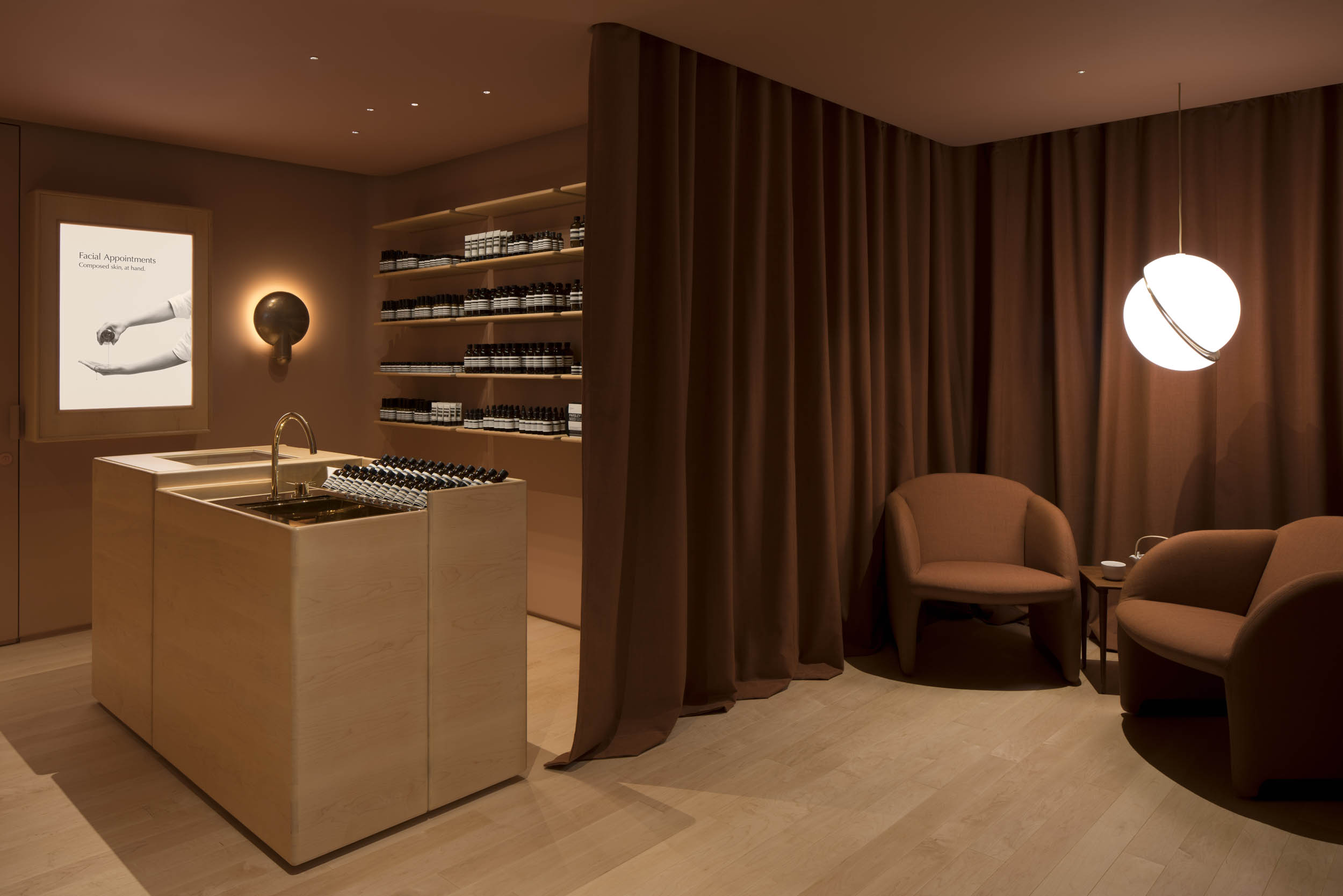 Client  Aesop  Project  Harbour City Facial Appointment  Location  Hong Kong  Year  2018