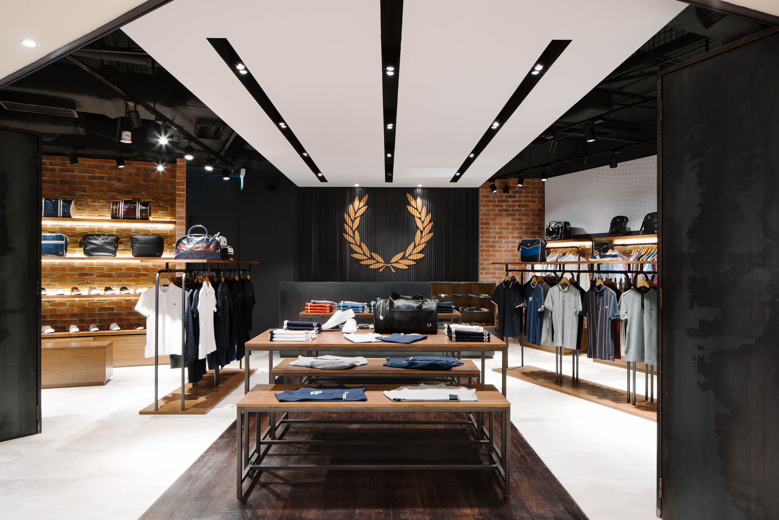 Client  Fred Perry  Project  Bugis Store  Location  Singapore  Year  2017