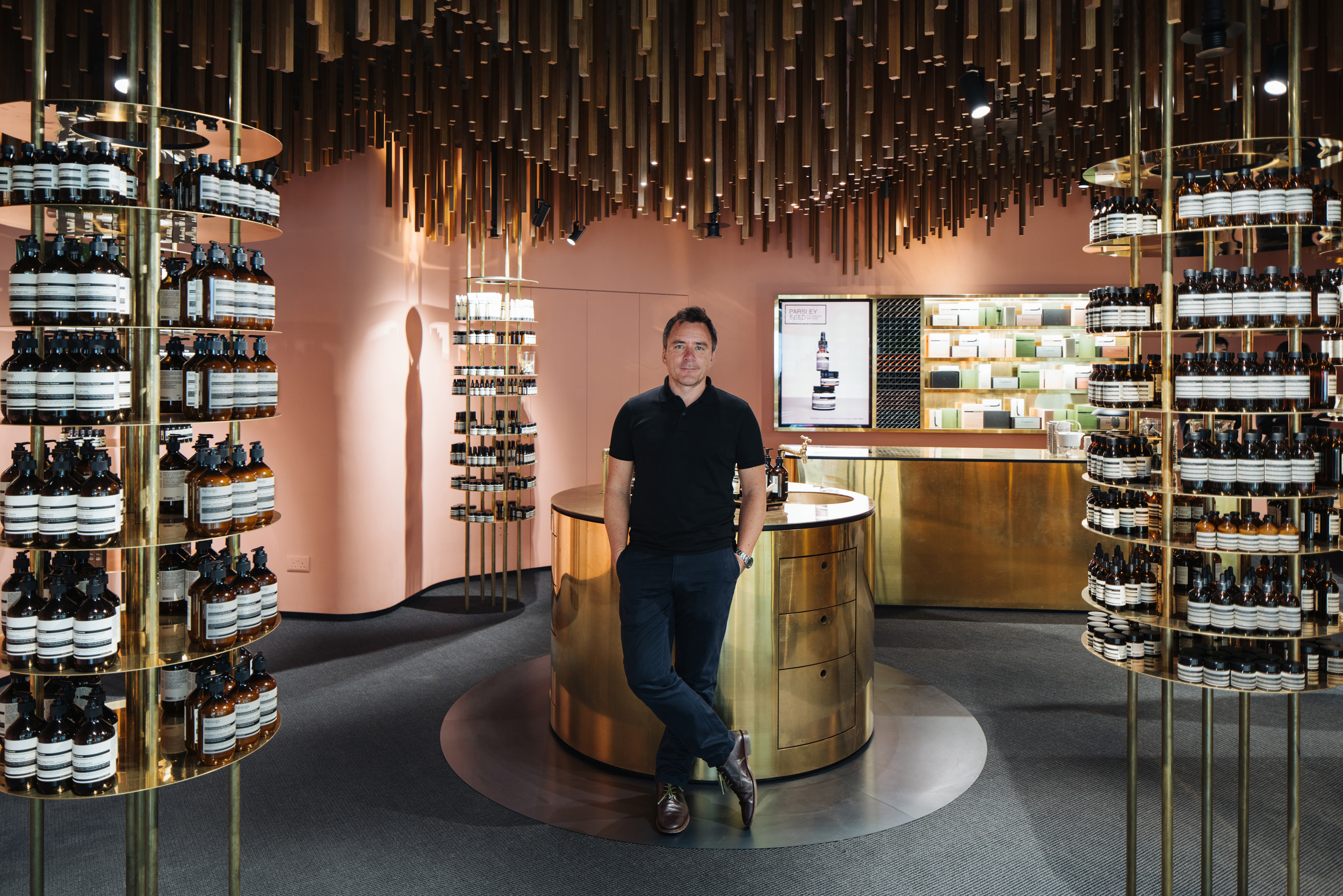 Client  Aesop  Project  Thomas Fagernes  Location  Singapore  Year  2016