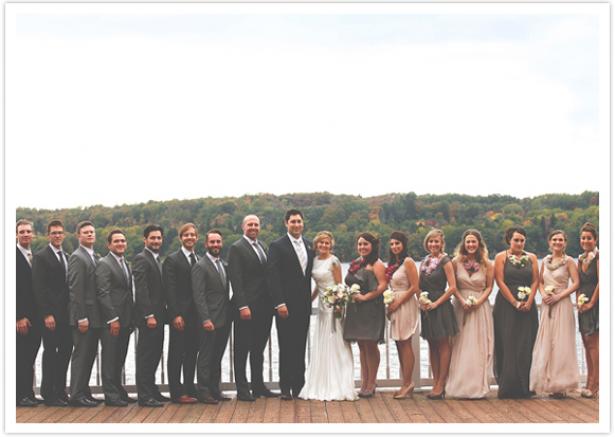 Real Weddings- Pemberley Gown