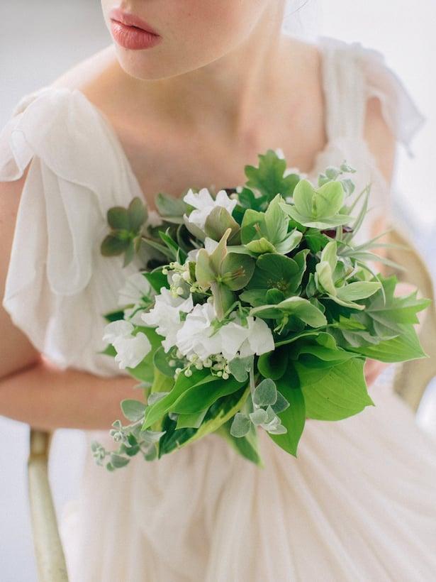Carol Hannah Wedding Gown - Wedding Hair inspiration shoot with Corbin Gurkin1