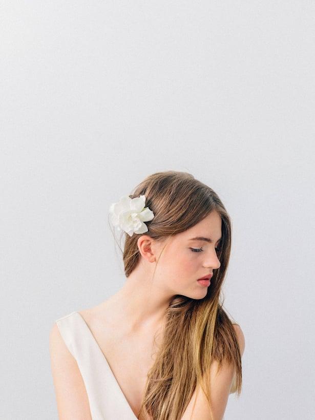 Carol Hannah Wedding Gown - Wedding Hair inspiration shoot with Corbin Gurkin12