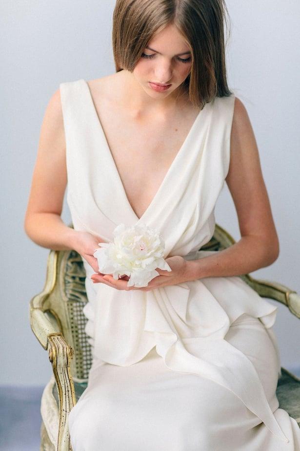 Carol Hannah Wedding Gown - Wedding Hair inspiration shoot with Corbin Gurkin13