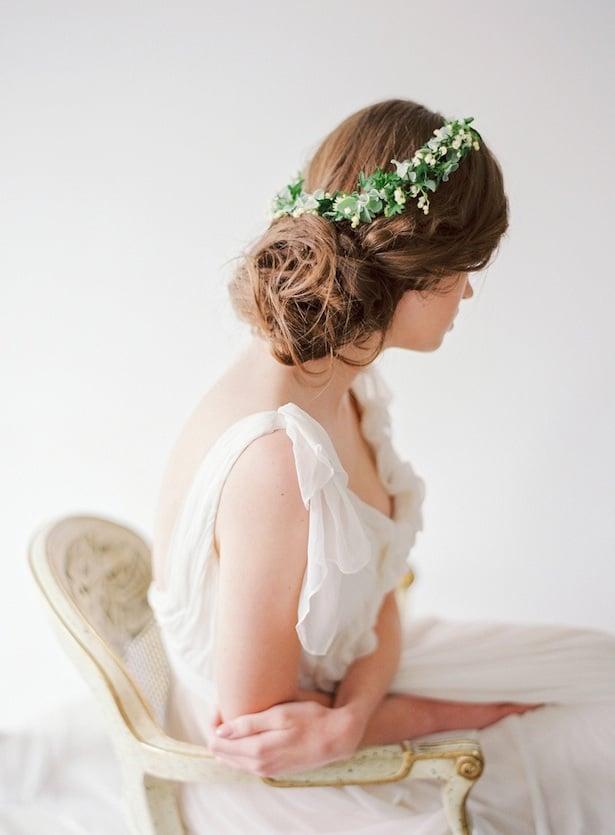 Carol Hannah Wedding Gown - Wedding Hair inspiration shoot with Corbin Gurkin2