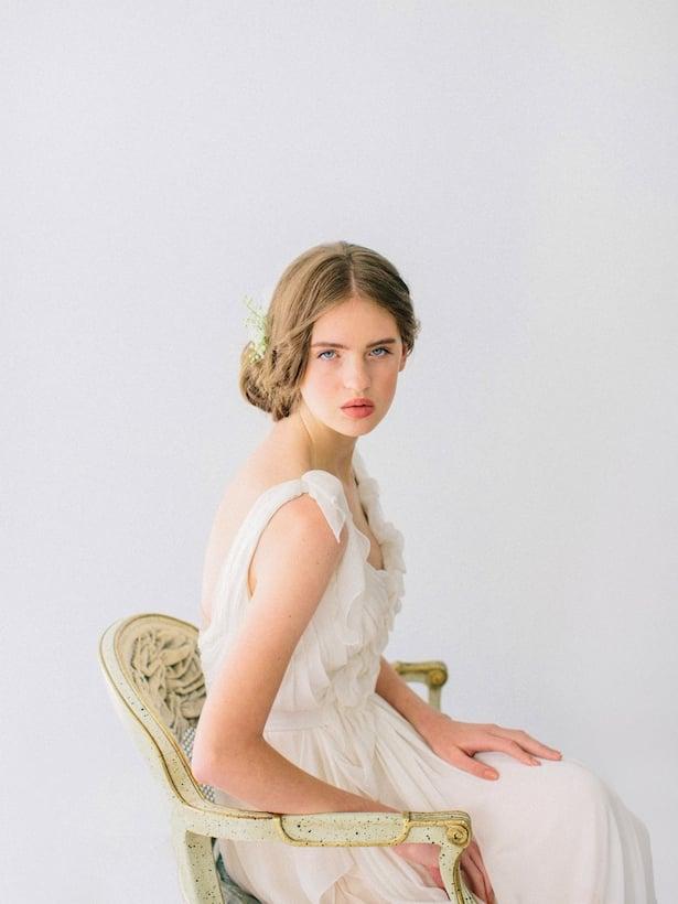 Carol Hannah Wedding Gown - Wedding Hair inspiration shoot with Corbin Gurkin5