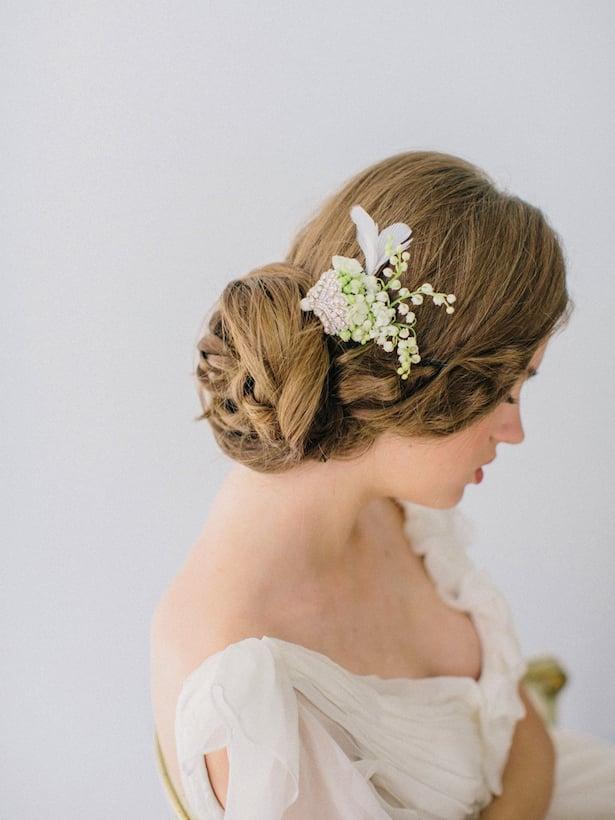 Carol Hannah Wedding Gown - Wedding Hair inspiration shoot with Corbin Gurkin6
