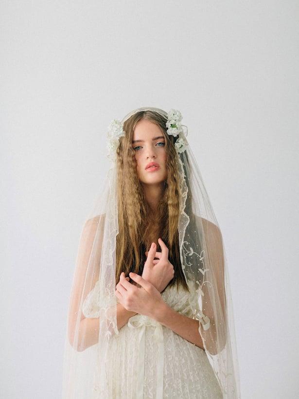 Carol Hannah Wedding Gown - Wedding Hair inspiration shoot with Corbin Gurkin8