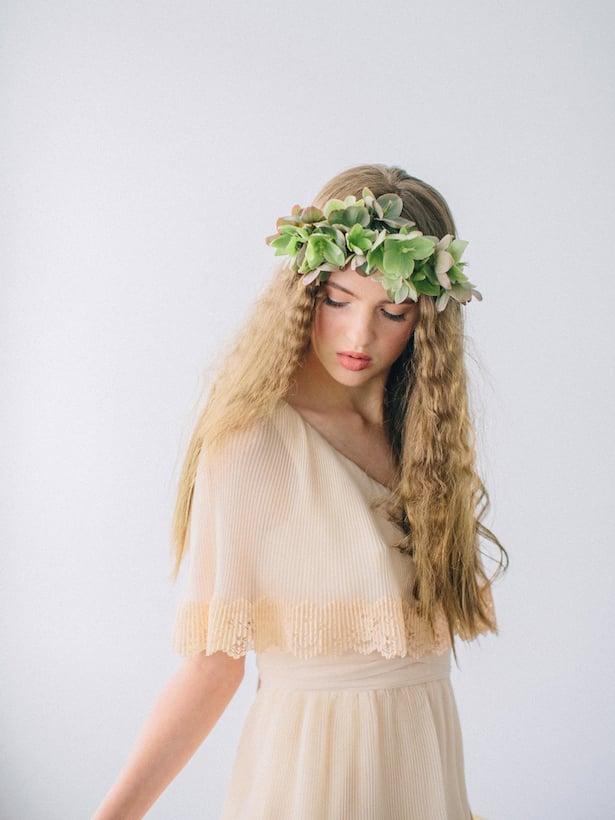 Carol Hannah Wedding Gown - Wedding Hair inspiration shoot with Corbin Gurkin9