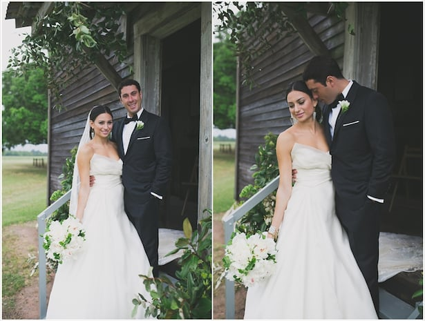 Real Weddings- Carol Hannah -Mulberry Gown