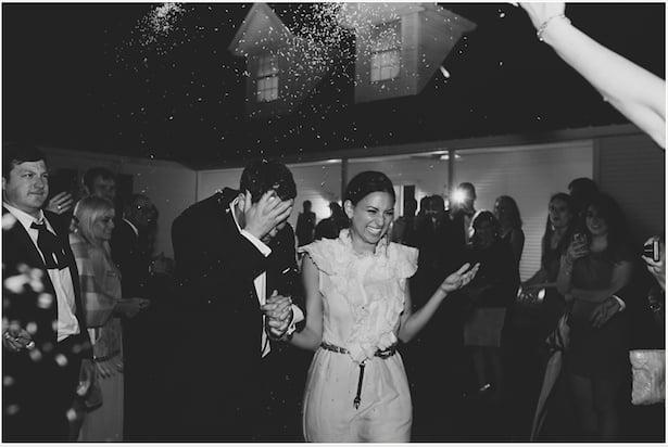 Amy makes a wedding get away!