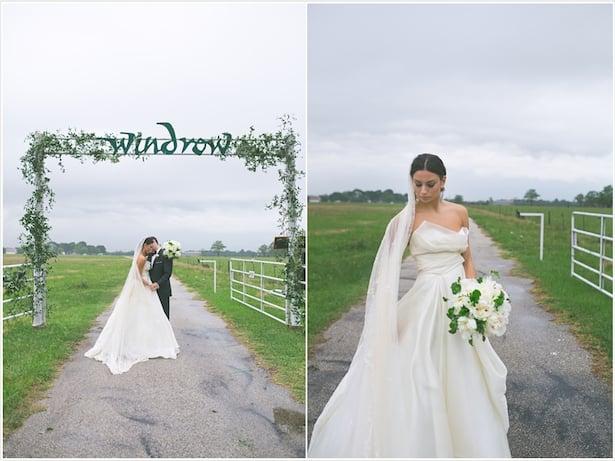 Real Weddings- Mulberry Gown- Carol Hannah Wedding dress